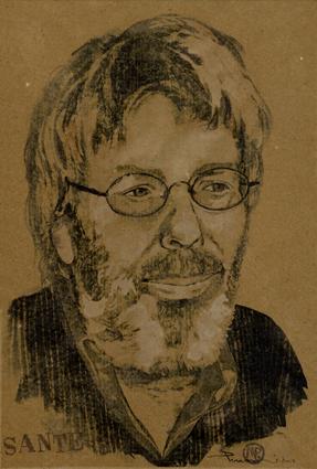 Sante ritratto da Marco Perroni